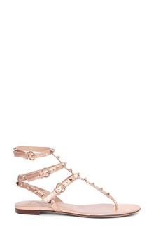 VALENTINO GARAVANI 'Rockstud' thong sandals