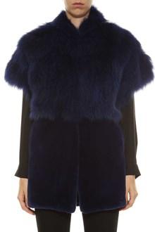 CAFE COLLECTION Short fur coat