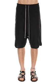RICK OWENS Bermuda pants with drawstring