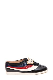 GUCCI Falacer patent sneaker