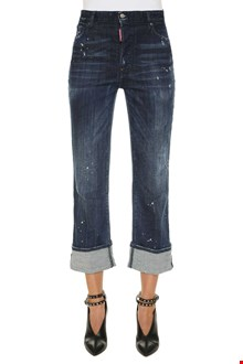 DSQUARED2 Jeans cropped slouch flare
