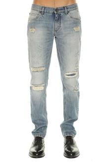 DOLCE E GABBANA Light denim jeans