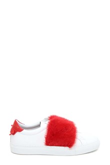 GIVENCHY Mink fur sneaker