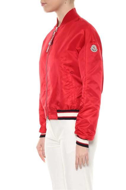 8956584ca Nylon satin Actinote bomber jacket
