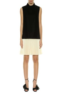 PHILOSOPHY di LORENZO SERAFINI Black and white dress