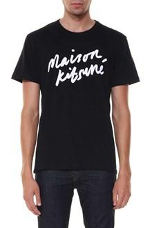 MAISON KITSUNE tee shirt handwriting
