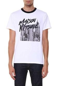 MAISON KITSUNE tee shirt skyline