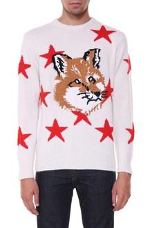 MAISON KITSUNE Sweater with fox head