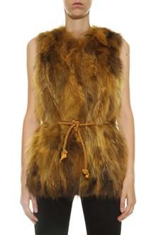 ALESSANDRA CHAMONIX Fur vest
