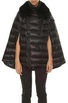 MONCLER GRENOBLE 'Orcleres' cape down jacket