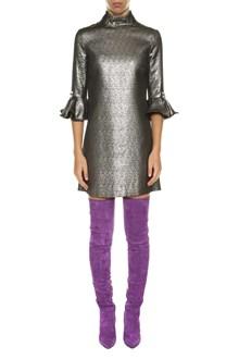 AMEN Lurex short dress