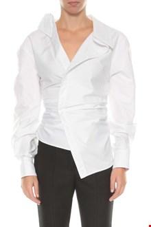 JACQUEMUS Asymmetric shirt