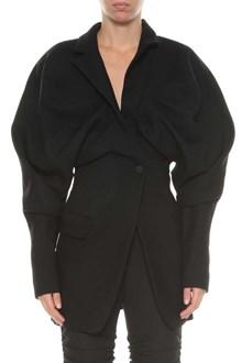 JACQUEMUS Wide shoulders blazer