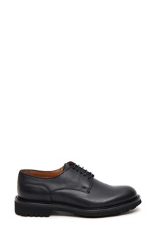 DOUCAL'S Smooth leather derby shoe