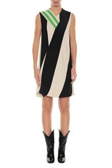 CALVIN KLEIN 205W39NYC Striped short dress