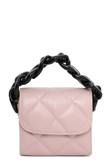 MARQUES ALMEIDA Quilted leather handbag