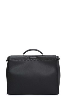 FENDI 'Peekaboo' handbag in Roman leather