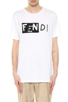 FENDI t-shirt fendi shadow embroider