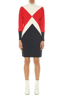 TOMMYXGIGI graphic mock-nk dress