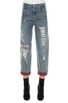 TOMMYXGIGI Jeans with checked details