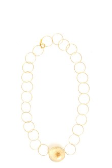 MARNI Golden necklace