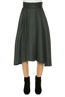 UNFLEUR Leather skirt