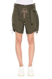 SAINT LAURENT Shorts with criss-cross