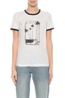SAINT LAURENT Souvenir print t-shirt