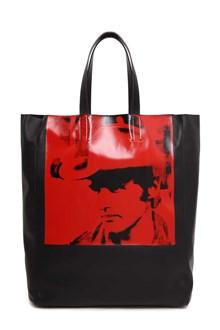 CALVIN KLEIN 205W39NYC 'Dennis Hopper' printed tote bag