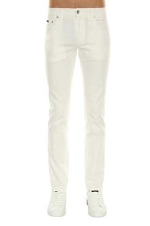 DOLCE E GABBANA White jeans
