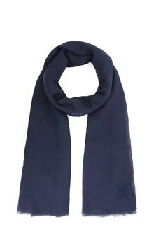 M MISSONI Dark navy shawl