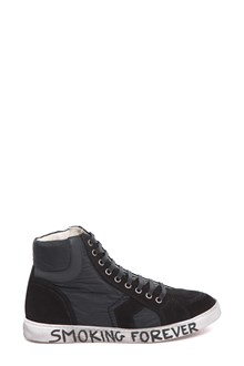 SAINT LAURENT Smoking Forever Joe Mid Top sneaker