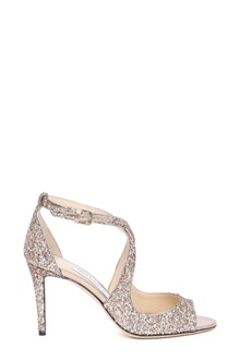 JIMMY CHOO 'Emily' glitter sandals