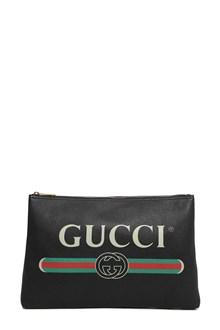 GUCCI Cripto Gucci fake print pouch