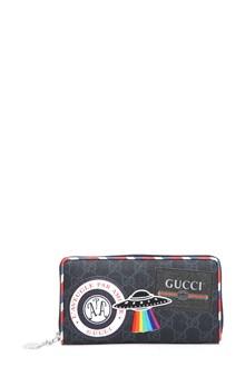 GUCCI GG supreme black wallet