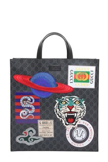 GUCCI GG supreme tote with removable shoulder strap