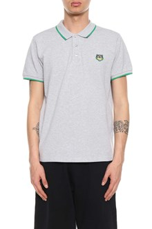 KENZO Polo shirt with tiger patch
