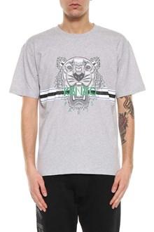 KENZO Printed tiger logo short sleeves t-shirt