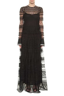 PHILOSOPHY di LORENZO SERAFINI Long lace dress with slip underneath