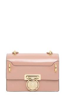 BALMAIN Flap bag box 20 -cuir glace