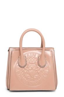 BALMAIN Mini handbag with embossed blason