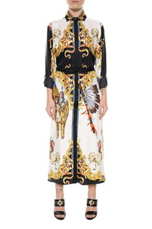 VERSACE Archive print dress