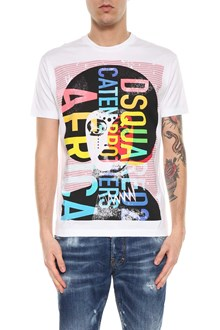 DSQUARED2 Colored printed short sleeves t-shirt