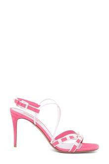 VALENTINO GARAVANI Free Rockstud suede sandals with studs