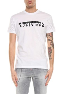DSQUARED2 Compact fade dyed short-sleeves t-shirt