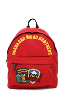 DSQUARED2 Backpack with patches