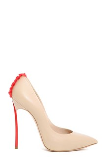 CASADEI Pumps with back frills