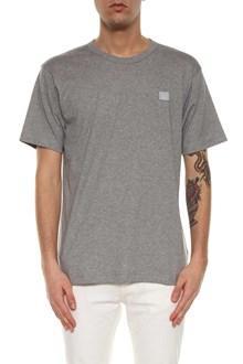 ACNE STUDIOS t-shirt nash face patch