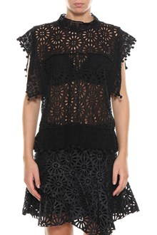 ISABEL MARANT 'Kery' top in broderie anglaise