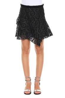 ISABEL MARANT 'Daley' skirt in perforated leather